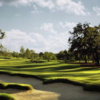 Fallen Oak Golf Club's bunkers are framed by beautifully sculpted banks of Zoysia grass.